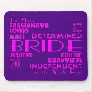 Braut-Brautpartys die Partys Wedding sind Qualit Mauspads