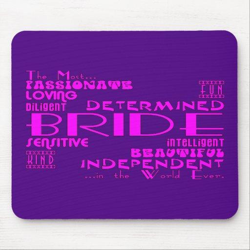 Braut-Brautpartys, die Partys Wedding sind: Qualit Mauspad