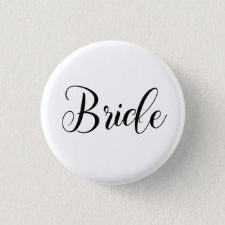 Braut-Button Runder Button 3,2 Cm