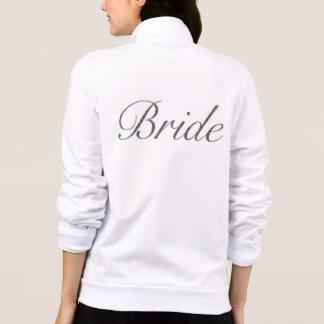 Braut-Fleece-Jacke