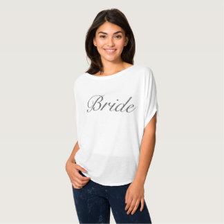 Braut Flowy Spitze T-Shirt