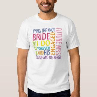 Braut-Gefühle, die T - Shirt Wedding sind