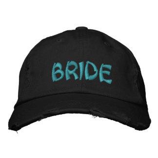 Braut gestickte Kappe