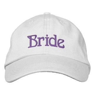 Braut gestickter Hut Baseballcap