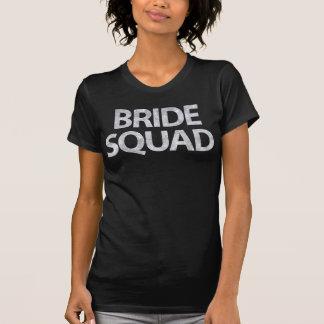 Braut-Gruppe-Silber-Glitter-Effekt T-Shirt