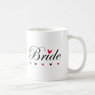 Braut-Herzen Kaffeetasse