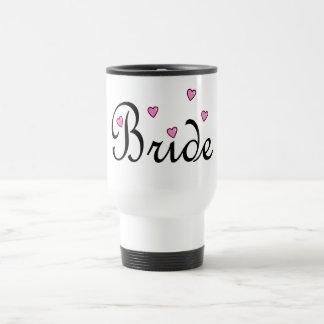 Braut-Herzen Reisebecher