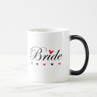 Braut-Herzen Verwandlungstasse