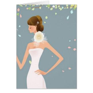 Braut Karte