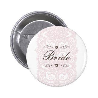 Braut-Knopf-Vintage Blüte Anstecknadelbuttons