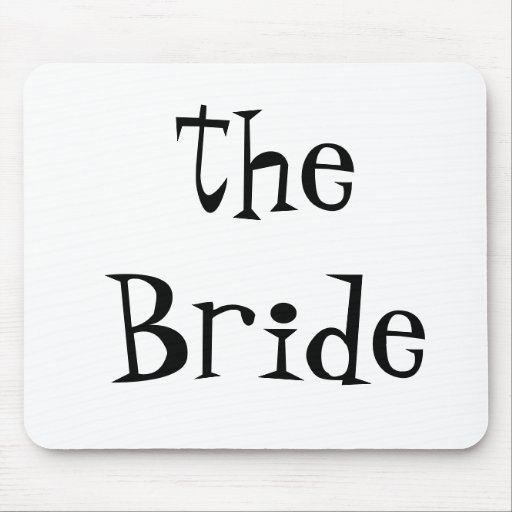 Braut Mousepad