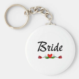 Braut (Rosen) Schlüsselband