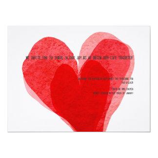 Braut schräge scape mehr lustige 16,5 x 22,2 cm einladungskarte