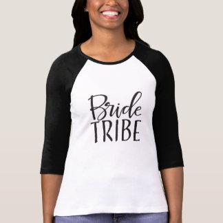 Braut-Stamm-Baseball-T - Shirts