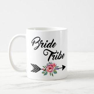 Braut-Stamm-Blumenpfeil Kaffeetasse