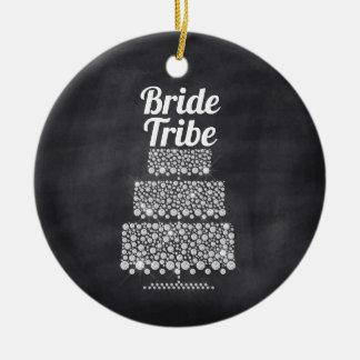 Braut-Stamm-Hochzeitstorte-Tafel Keramik Ornament