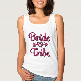 Braut-Stamm mit Herzpfeil Brautjungfern-Shirt Tank Top