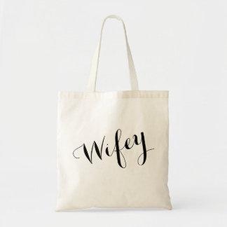 Braut-Taschen-Tasche - Wifey Taschen-Tasche Tragetasche