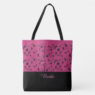 Braut-Taschen-Taschen-heißes Rosa-u. Tasche