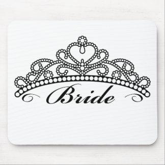 Braut-Tiara Mousepad