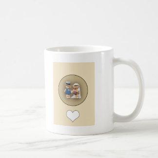 Braut-u. Bräutigam-Teddybären Kaffeetasse
