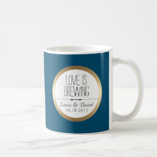 Braut-und Bräutigam-Gewohnheits-Kaffee Kaffeetasse