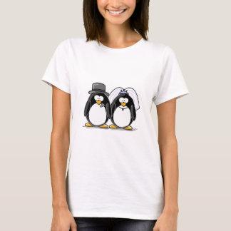 Braut-und Bräutigam-Pinguine T-Shirt