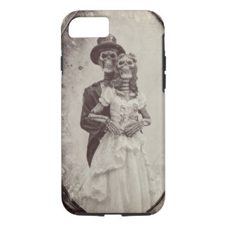 Braut-und Bräutigam-Skeleton iPhone 8/7 Hülle