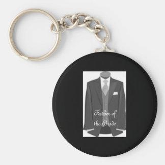Braut-Vati-Schlüsselring-Vater der Braut Keychain Schlüsselanhänger