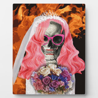 Braut von der Hölle Fotoplatte
