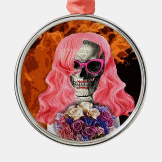 Braut von der Hölle Silbernes Ornament