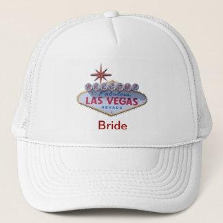 """""""Braut-"""" Willkommen zu fabelhaftem Las Vegas-Hut Truckerkappe"""