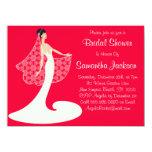 Braut-zu-ist Brautparty einladen niedlich Ankündigungskarten