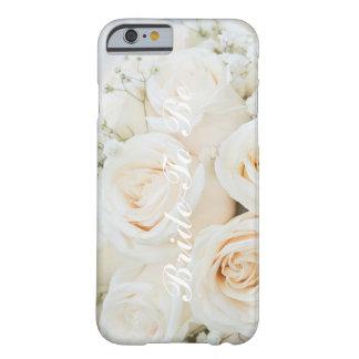 Braut, zum weißer Rosen iPhone Kasten zu sein Barely There iPhone 6 Hülle