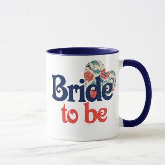 Braut zum zu sein tasse
