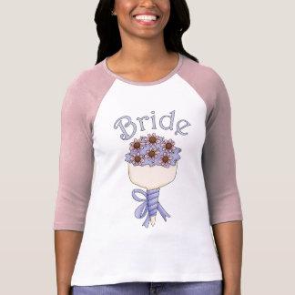 Brautblumenstrauß-Geschenke und T-Shirts - für