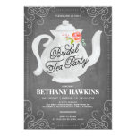 BrautBrautparty des tee-Party-| 12,7 X 17,8 Cm Einladungskarte