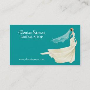 Kleid Fã¼R Brautfer | Brautgeschaft Visitenkarten Zazzle De