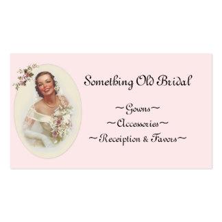Brautgeschäfts-Visitenkarte Visitenkarten