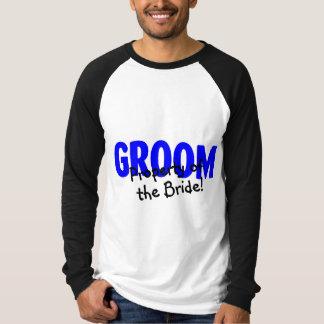 Bräutigam-Eigentum der Braut Hemden