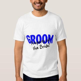 Bräutigam-Eigentum der Braut Tshirts