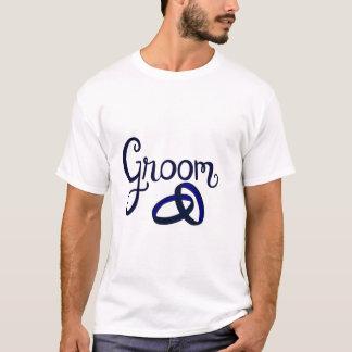 Bräutigam-Gastgeschenke Hochzeit T-Shirt