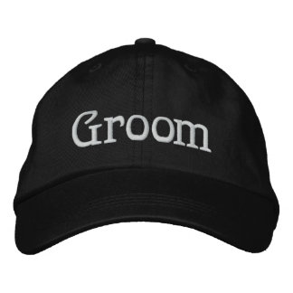 Bräutigam gestickter Hut Besticktes Baseballcap