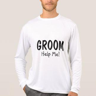Bräutigam helfen mir T-Shirt