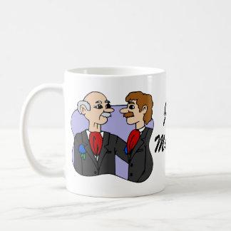 Bräutigam-Mitte gealtert Kaffeetasse