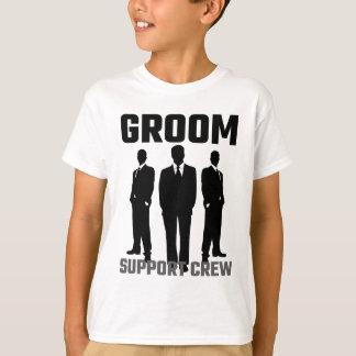Bräutigam-StützCrew T-Shirt