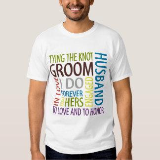 Bräutigam-T-Shirt T-Shirts