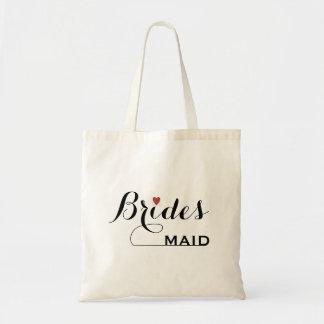 Brautjungfer besonders angefertigt budget stoffbeutel