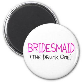 Brautjungfer das betrunkene kühlschrankmagnete