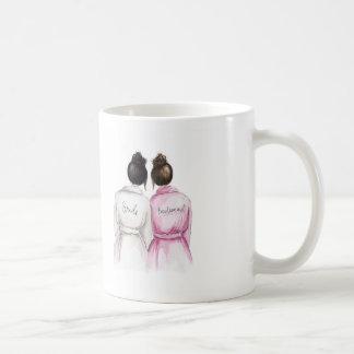 Brautjungfer? Schwarzes Kaffeetasse